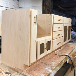 Cabinets Built by ITH