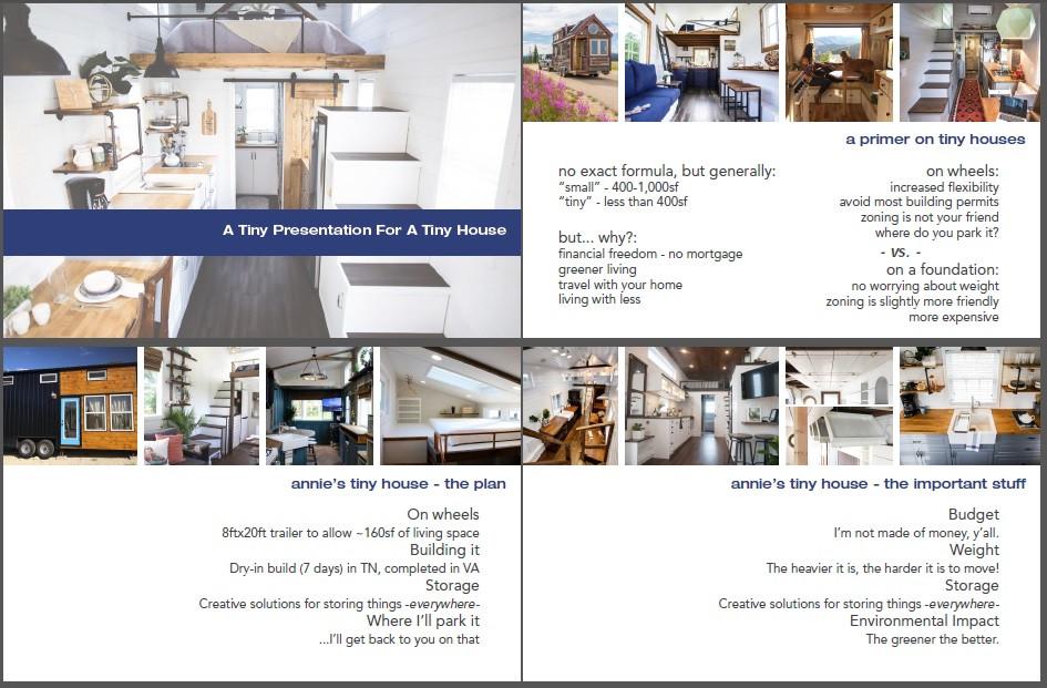 tiny house design presentation