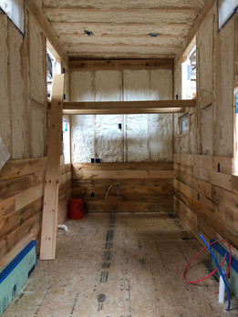 One Third Done with Interior Paneling