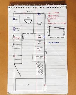 Preliminary Floor Plan Sketch