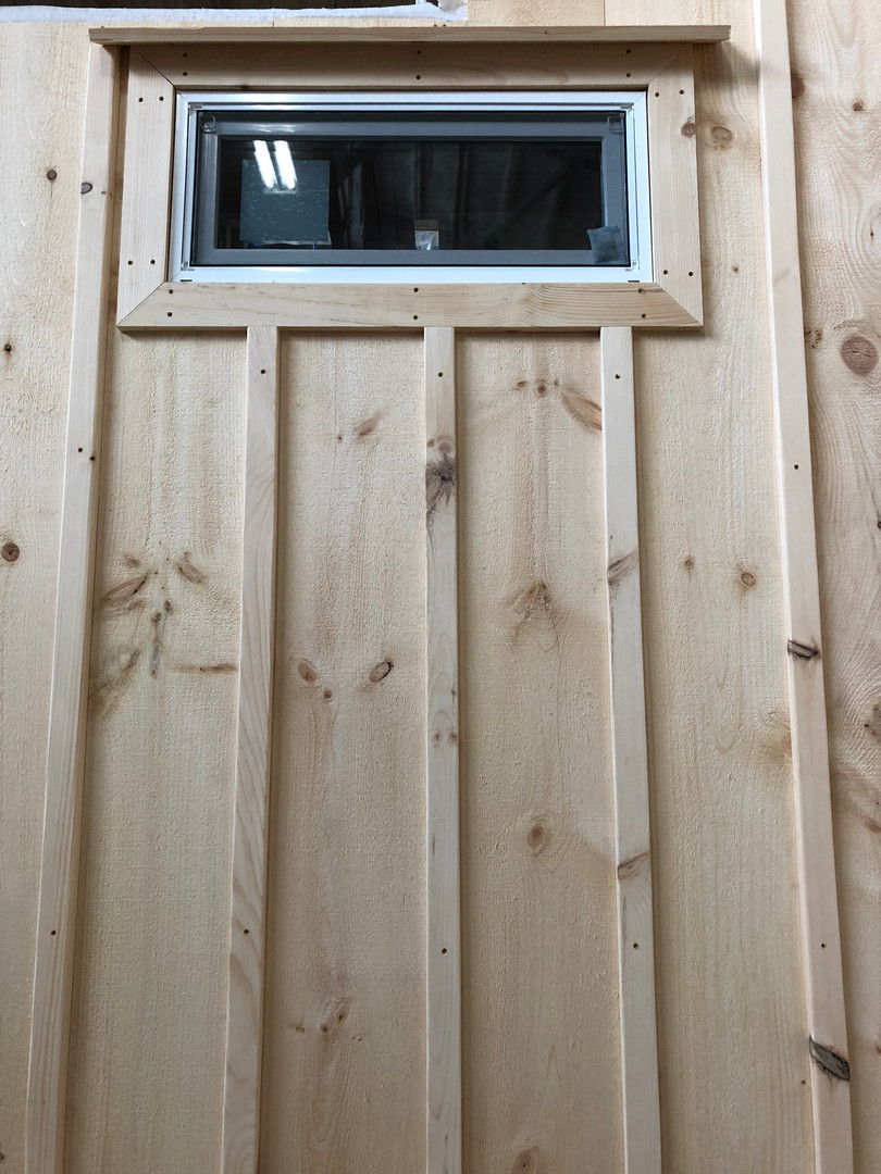 Exterior Window Frame and Batten Stripping