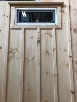 Exterior Window Frame and Batten Stripping