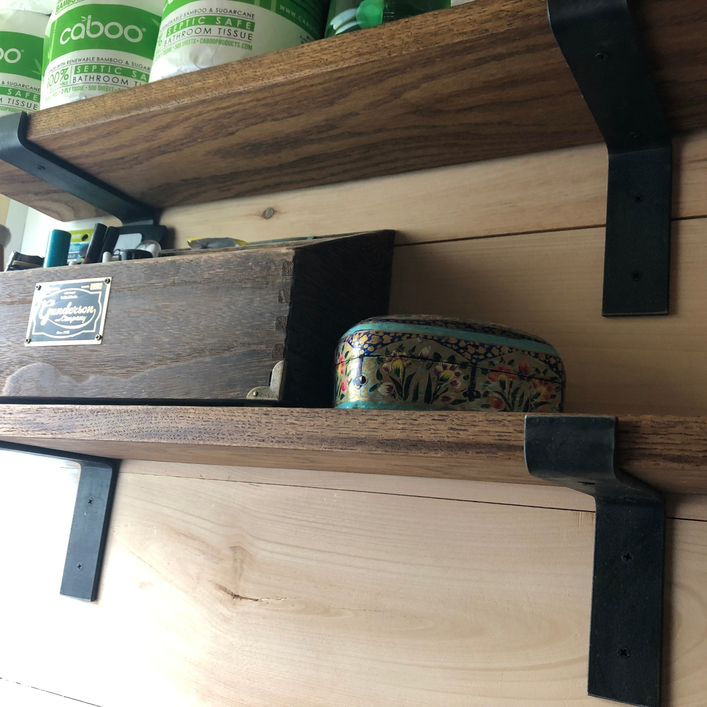 Bathroom Shelf Brackets