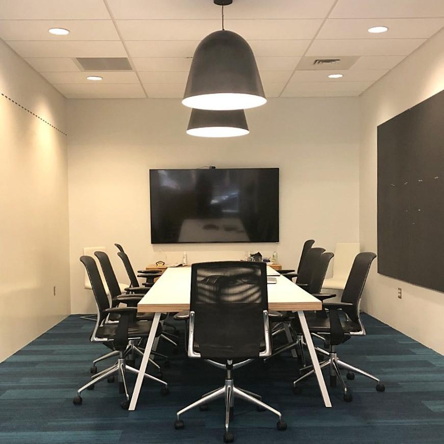 modern conference room