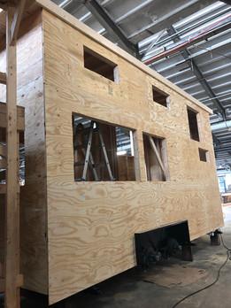 Beginning of Workshop Build