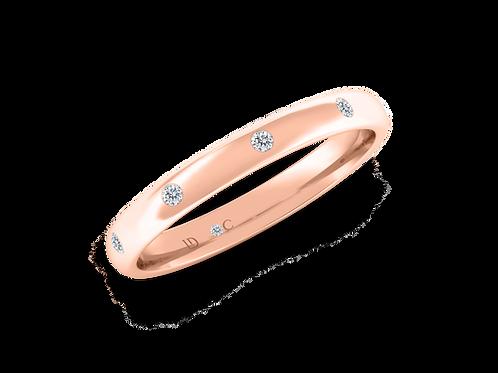 Rotary Diamond Band (0.06ctw)