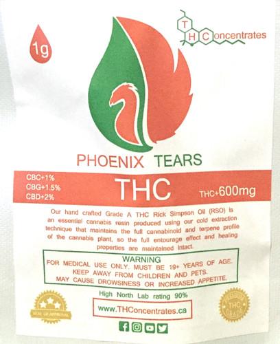 Phoenix Tears -- 600mg | Loopy's Joints
