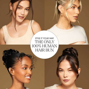 Luxy-Hair-Extensions-Clip-in-Buns-Human-
