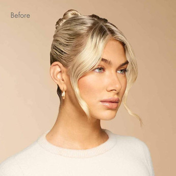 Luxy-Hair-Extensions-Clip-In-Buns-Platin