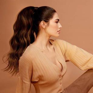 Luxy clip in ponytail