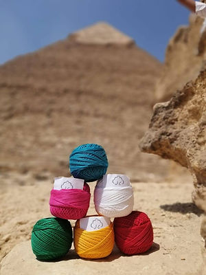 katoen pyramides cotton pyramids