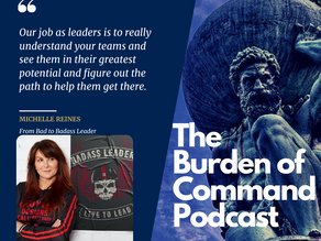 The Burden of Command Ep. 62 - Michelle Reines