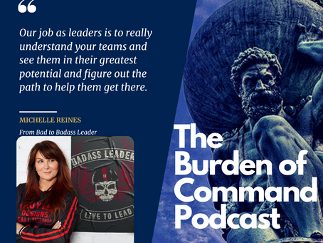 The Burden of Command Ep. 62 - Michelle Reines