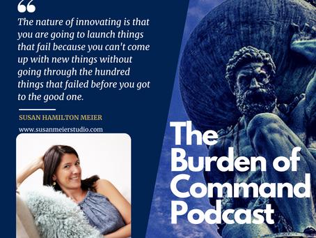 The Burden of Command Ep. 59 - Susan Hamilton Meier