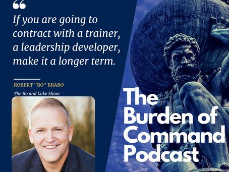 The Burden of Command Ep. 89 - Professional Development W/Bo Brabo