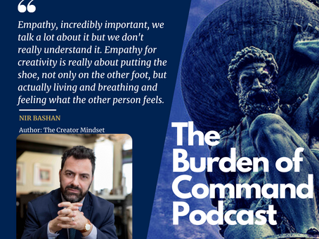 The Burden of Command Ep. 65 - Nir Bashan