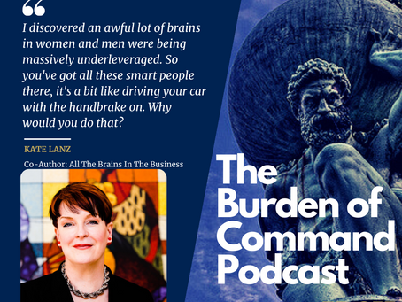 The Burden of Command Ep. 57 - Kate Lanz