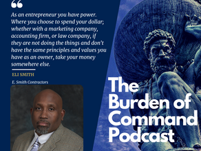 The Burden of Command Ep. 92 - Being A Community Partner W/ Eli Smith