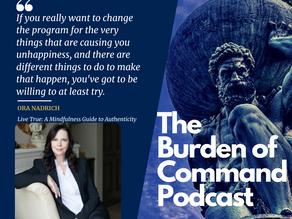 The Burden of Command Ep. 63 - Ora Nadrich