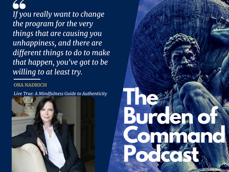 The Burden of Command Ep. 63 - Ora Nadrich