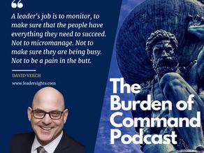 The Burden of Command Ep. 55 - David Veech