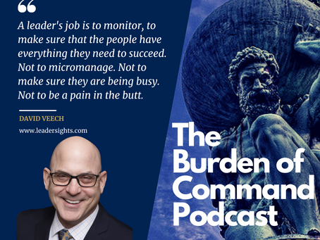 The Burden of Command Ep. 55 - David Veech