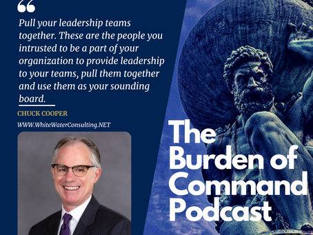The Burden of Command Ep. 119 - HR Resources W/ Chuck Cooper