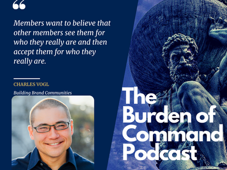 The Burden of Command Ep. 60 - Charles Vogl