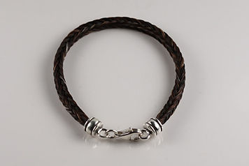 Twisted Tails Horsehair Jewelry Bracelet B2 Barrel