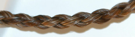 Twisted Tails Horsehair Jewelry Round Braid