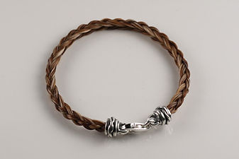 Twisted Tails Horsehair Jewelry Bracelet B2 Twist