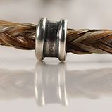 Twisted Tails Horsehair Jewelry Beads Bell