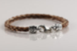 Twisted Tails Horsehair Bracelet B2