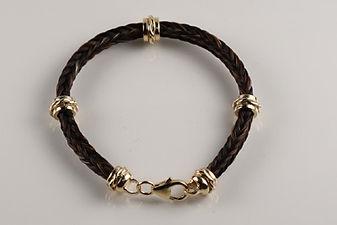 Twisted Tails Horsehair Jewelry Bracelet B13 Twist