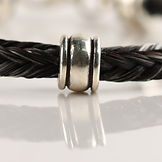 Twisted Tails Horsehair Jewelry Beads Barrel
