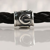 Twisted Tails Horsehair Jewelry Beads Round Horseshoe