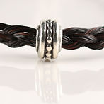 Twisted Tails Horsehair Jewelry Beads Dots