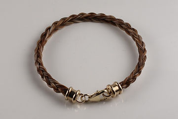 Twisted Tails Horsehair Jewelry Bracelet B12