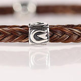 Twisted Tails Horsehair Jewelry Beads Barefoot Hoof Print