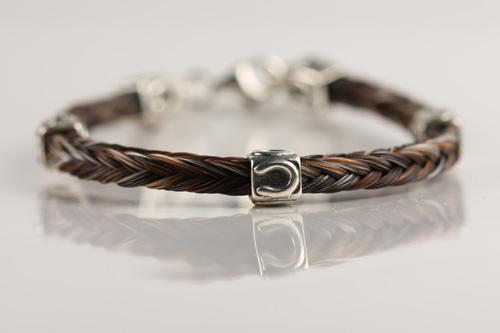 B3 Square Horseshoe Bracelet