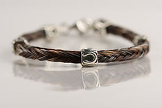 Twisted Tails Horsehair Jewelry  Square Braid