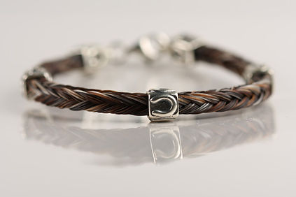 Twisted Tails Horsehair Jewelry Bracelet B3