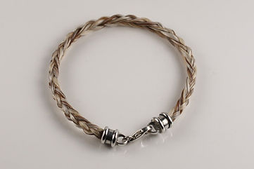 Twisted Tails Horsehair Jewelry Bracelet B2 Bell