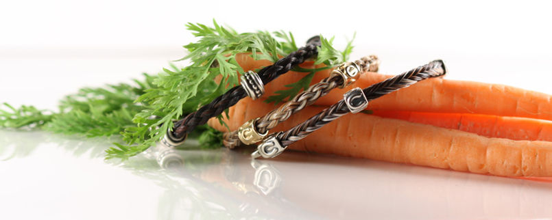 Twisted Tails Unique Horsehair Jewelry-carrots