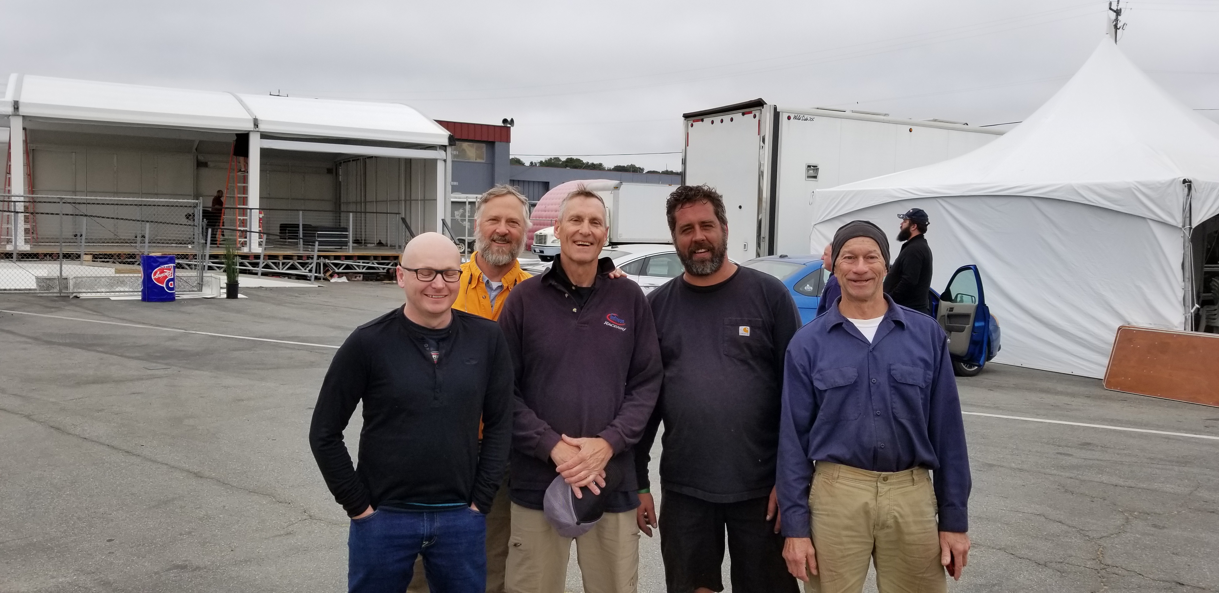The 2018 Laguna Seca Crew