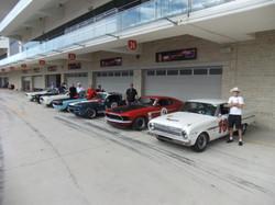 EPS team cars COTA 2017