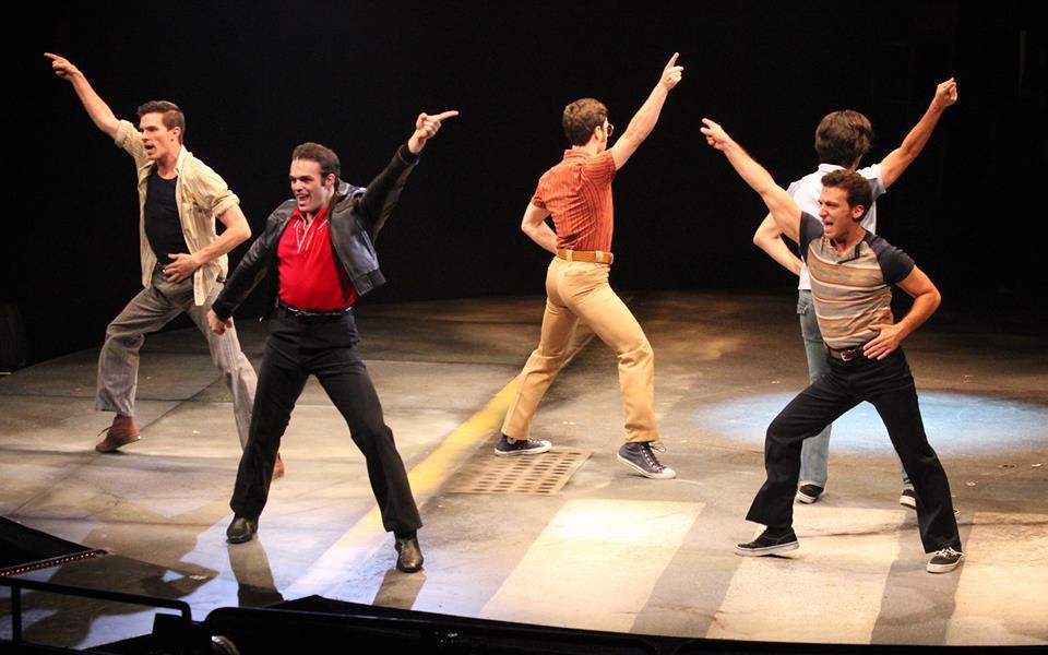 James LaRosa as Gus in Saturday Night Fever