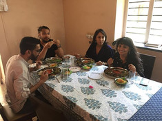 Happy guests at our Pathare Prabhu lunch