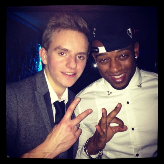 Toni & JLS' Oritse Williams