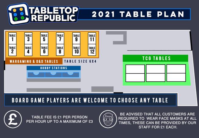 TABLE PLAN 2021